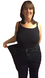 Sheila L has lost 35 Kg in one year after her gastric sleeve surgery in France