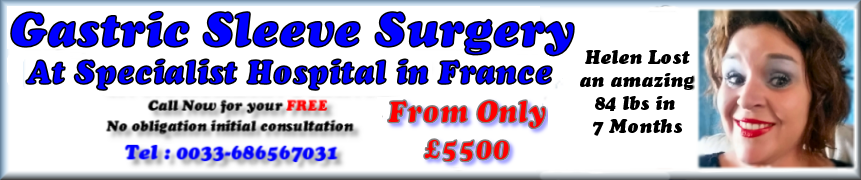 Compare price of Gastric sleeve surgery in France