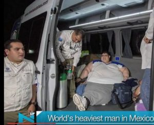 World heaviest man arrives for gastric bypass surgery
