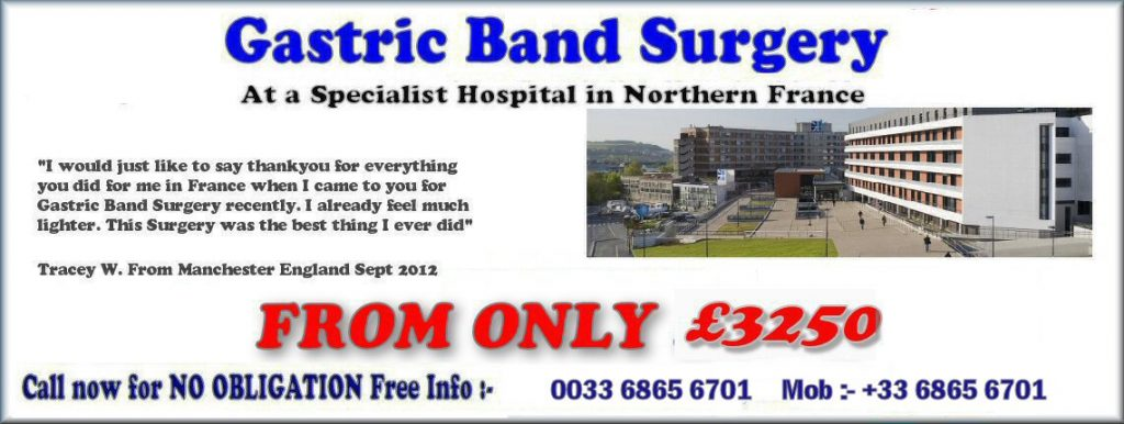 Gastric Band Surgery France Special Offers