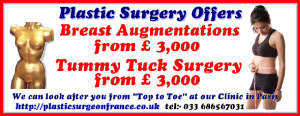 Cosmetic Surgery special offers for tummy tucks and Breast Augmentation