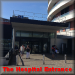 Jaques monod Hospital entrance