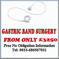 how much is Gastric Band? from £3250