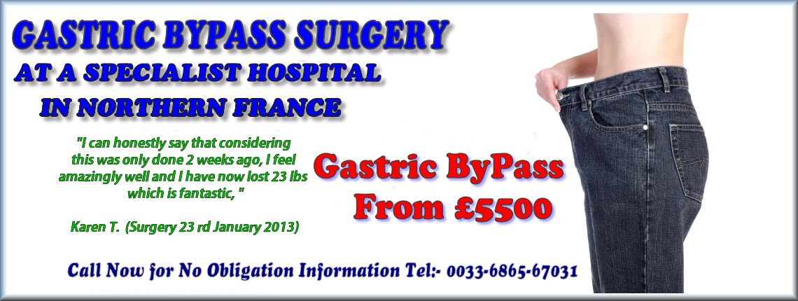 Prices of Gastric Bypass Cost Less in France