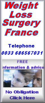 Left banner for gastric band surgery france