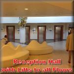 lifts to all levels of Hospital