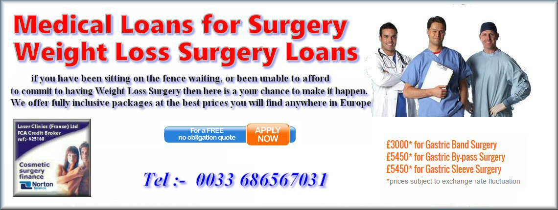 loans for gastric band
