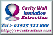 Cavity wall Insulation Extraction